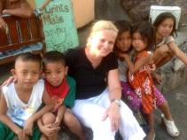 Caloocan on puolen miljoonan asukkaan slummi metro-Manilassa Filippiineillä