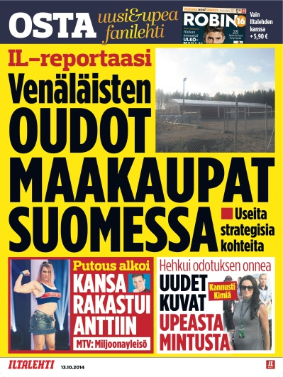Strateginen maanhankinta 13.10.2014