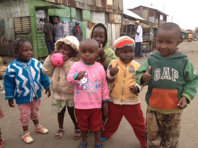Kenia - slummien lapset