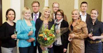 Päätoimittajayhdistyksen palkinto 2011