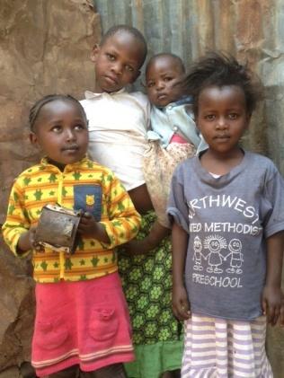 Kenia - slummin tytöt